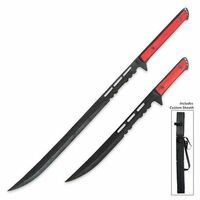 Twin Fantasy Sword Set with Sheath