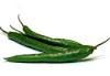 Fresh Green hot chilli/Finger hot chili(8oz)-Indian-thai vegetable,USA