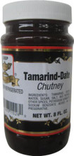 This sweet-sour brown chutney is made from tamarind pulp and pureed dates. It goes great with deep-fried savory snacks or on chaat salads. It's also good with grilled meats, shrimp, or chicken.Product Weights: 8 FL OZ (227 ML) 16 FL OZ (454 ML) Country Of Origin: Product of IndiaIngredients: Tamarind, Dates, Water, Sugar, Salt, Red Peppers, Other Spices, Potassium Sorbate & Sodium Benzoate.Storage Instructions: Keep in Dry and Cool Place. Keep refrigerated.Package: Jar