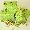 Indian Sweets-Pista Barfi(Pistachio Fudge)-1lb,Indian Dessert(mithai),USA
