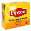 Lipton Yellow Label tea bags Orange Pekoe-100's Indian Grocery,USA