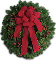 Classic Holiday Wreath 16 inch