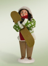 Girl with SnowBoard