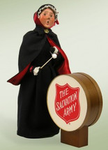 Salvation Army Woman with Drum (2PCS)