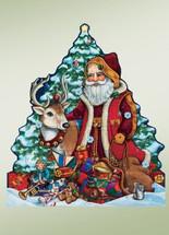 Woodland Santa Advent Calander
