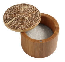 Round Salt(storage) Box Tree of Life