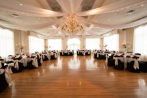 This gives any venue a extra special feel to the room. We can set up a Cinderella Ceiling at your venue even if you don't book with us for your floral need. The cost is $895.00  We do offer A discounted price for anyone who books with us for wedding flowers. The discounted priced is $650.00