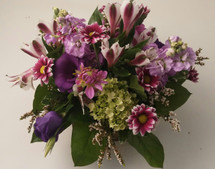 Purple Passion Centerpiece