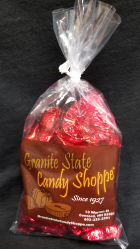 Milk Chocolate shaped hearts by Granite State Candy Shoppe