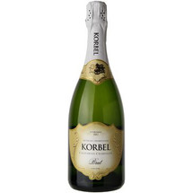 Bottle Of Korbel Brut Champagne