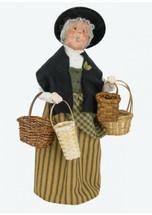 Byers Choice Woman Selling Baskets