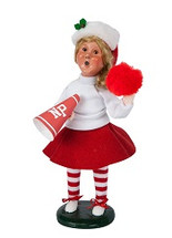Byers Choice Cheerleader