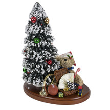 Byers Choice Tree on Base with Toys