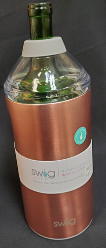 Insulated wine bottle chiller, Stays cold for up to 24 hours and hot for up to 12 hours
