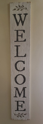 These signs are weatherproof and perfect for your porch, patio, mudroom, deck, garage etc