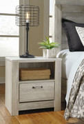 Ashley Bellaby Whitewash One Drawer Night Stand