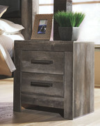 Wynnlow Gray Two Drawer Night Stand