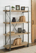 Ashley Forestmin Brown/Black Shelf