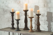 Ashley Carston Multi Candle Holder Set (5/CN)
