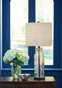 Ashley Laurentia Champagne Glass Table Lamp