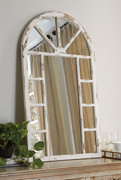 Ashley Divakar Antique White Accent Mirror