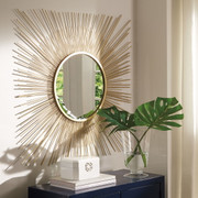 Ashley Elspeth Gold Finish Accent Mirror