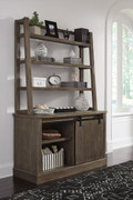 Ashley Luxenford Grayish Brown Large Credenza with Hutch