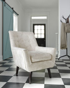 Ashley Zossen Ivory Accent Chair