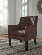 Ashley Drakelle Mahogany Accent Chair