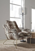 Ashley Wildau Gray Accent Chair