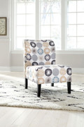 Ashley Triptis Gray/Tan Accent Chair