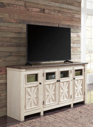 Ashley Bolanburg Two-tone Extra Large TV Stand