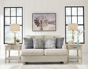 Ashley Traemore Linen Loveseat