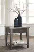 Ashley Branbury Gray Rectangular End Table