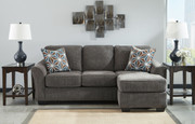 Ashley Brise Slate Sofa/Couch Chaise