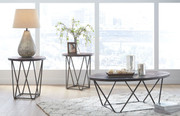 Ashley Neimhurst Dark Brown Occasional Table Set (3/CN)