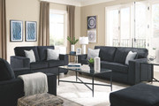 Ashley Altari Slate Sofa/Couch, Loveseat, Chair, Ottoman & Augeron Table Set