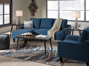Ashley Jarreau Blue Queen Sofa/Couch Sleeper Collection