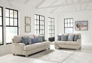 Ashley Traemore Linen Sofa/Couch & Loveseat