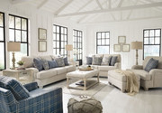 Ashley Traemore Linen Sofa/Couch, Loveseat, Chair and a Half, Ottoman & Accent Chair