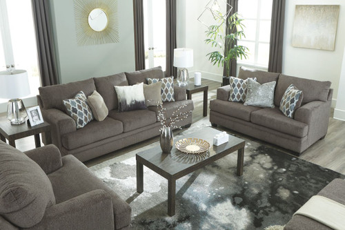 Ashley Dorsten Slate Sofa Loveseat Amp Chair And A Half On Sale At Lakeland Furniture Amp Mattress