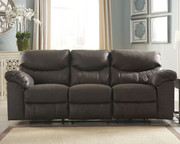 Ashley Boxberg Teak Reclining Sofa/Couch