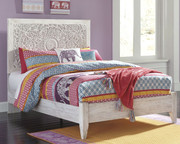 Ashley Paxberry White Wash Full Panel Bed