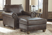 Ashley Nicorvo Coffee Chair with Ottoman