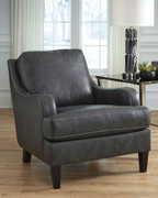 Tirolo Dark Gray Accent Chair