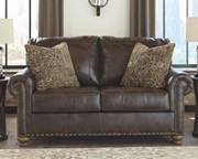 Ashley Nicorvo Coffee Loveseat