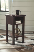 Ashley Marnville Reddish Brown Accent Table