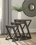Ashley Cairnburg Brown Accent Table (Set of 3)