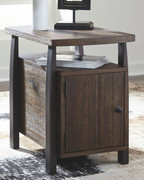 Ashley Vailbry Brown Chair Side End Table