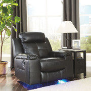 Ashley Kempten Black Rocker Recliner